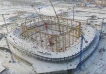 Стадион «Мордовия Арены» готов на 63%