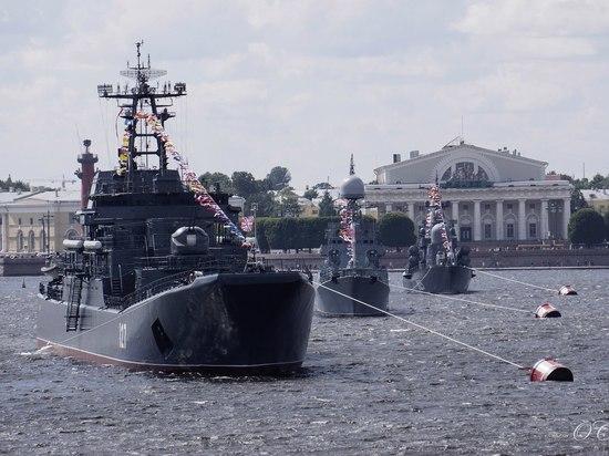 Мордовия поучаствовала в торжествах ко дню ВМФ в Санкт-Петербурге