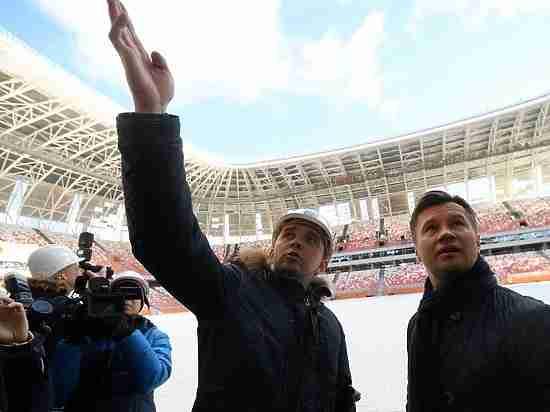 В Саранске для олимпийского чемпиона Алексея Немова устроили экскурсию по «Мордовия Арене»